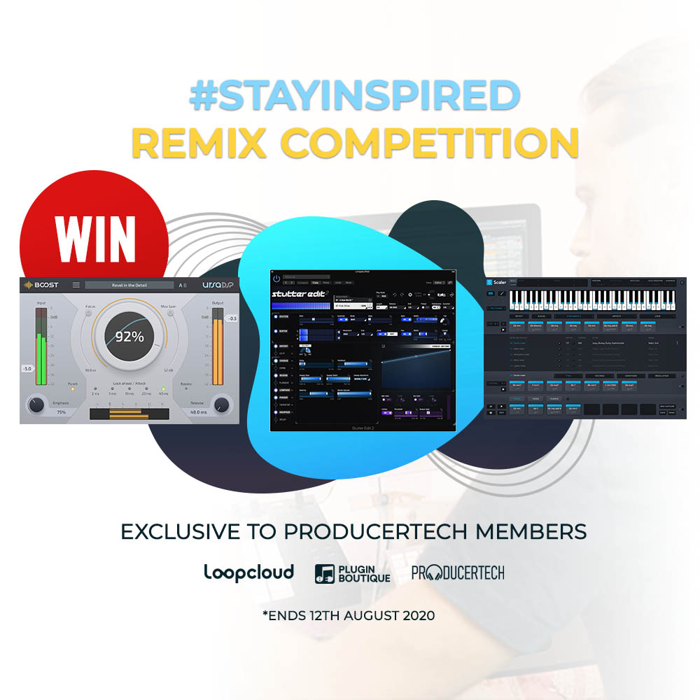#StayInspired remix competition - Win plugins!