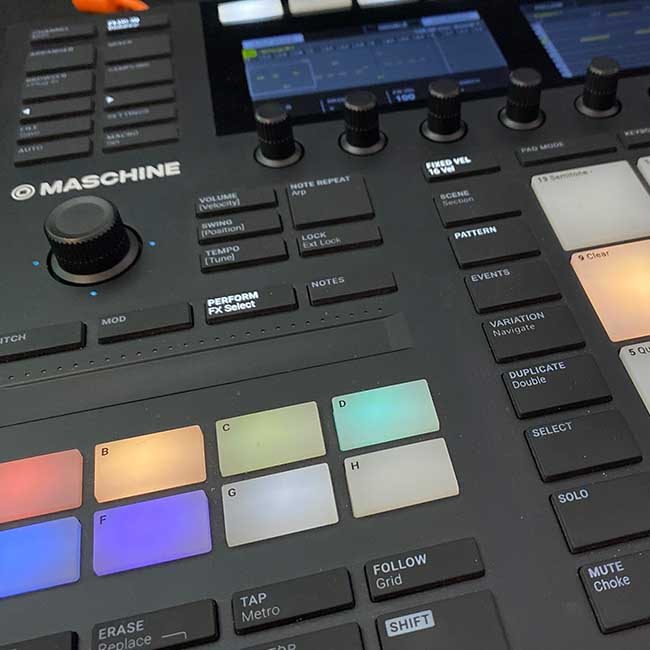 The Evolution of producing with Maschine