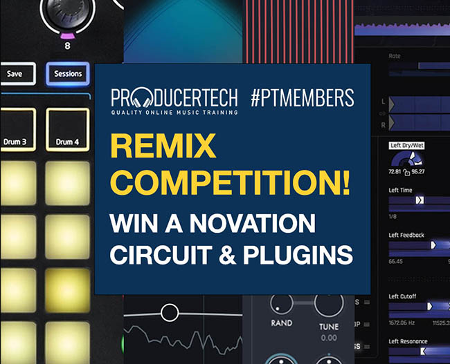 End Of Year Remix Competition - Win A Novation Circuit & Plugins