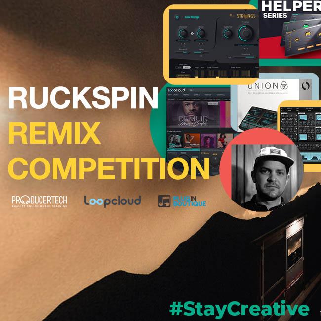 StayCreative: Remix Ruckspin & Win Prizes
