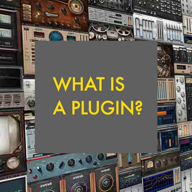 What is a plugin in music?