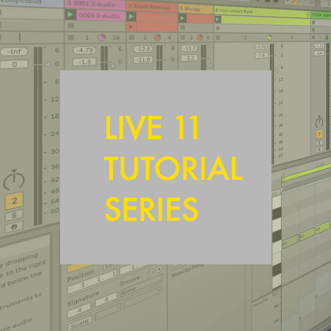 Ableton Live 11 Free Tutorials